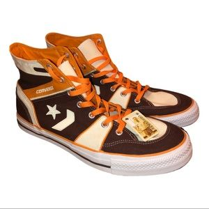 CONVERSE One Star Arrow High Tops - Size US 13 New Brown Orange Padres